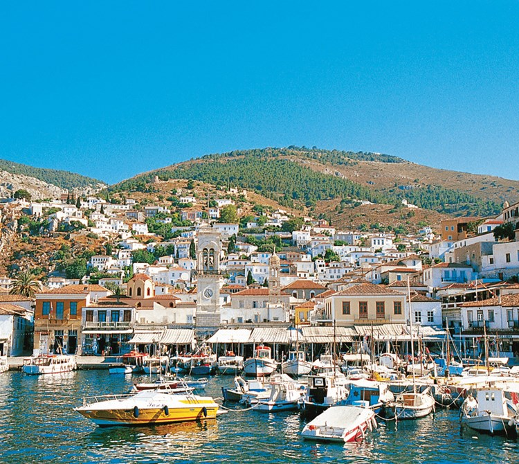 The Saronic islands