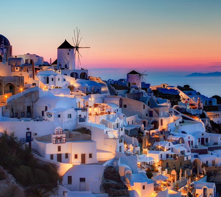 Santorini – Short stay